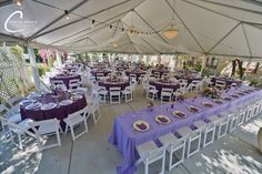 With seating for up to 225 guests under the tent, Prince Erik Hall can accommodate weddings large and small.