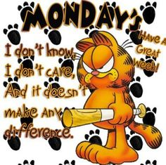 Mondays According to Garfield #7