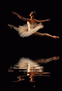 grande jete reflected...