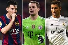 Manuel Neuer akan bersaing dengan Lionel Messi dan CR7 meraih Ballon d'Or tahun ini.