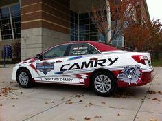 Gonzaga University - Toyota Camry - Vehicle Wrap