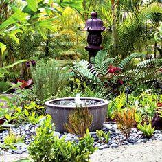 32 Inspiring Garden Fountains     http://smallgardenideas.net/32-inspiring-garden-fountains/
