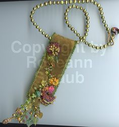 Roseann Straub's Victorian Corsage (Beads)