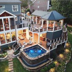 Decksouth house plans mansion, mansion rooms, house rooms, c House Goals, Dream Rooms, My Dream Home, Exterior Design, Future House, Beautiful Homes, Beautiful Dream, Outdoor Living, Outdoor Spaces