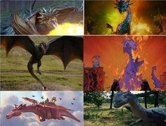 Les Mansions honorables avant le top : -Le Magyar à pointes dans Harry Potter et la Coupe de Feu -La Reine Narissa dans Il était une fois -Drogon (et Rhaegal et Viserion) dans Game of Thrones -Madame Mim dans Merlin l'enchanteur -La dragonne dans Shrek -Saphira dans Eragon
