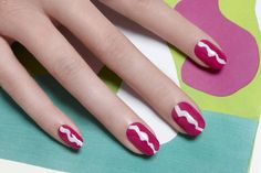 Squiggly Lines by JINsoon | Sephora Beauty Board #Sephora #nailart