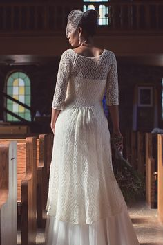 Wow! Doesn't have to be for a wedding, either. . . . Interweave Knits Winter 2017 This show-stopping bridal jacket is worked from the bottom up in one piece. The sleeves are worked separately and seamed at the raglan armholes for structure.