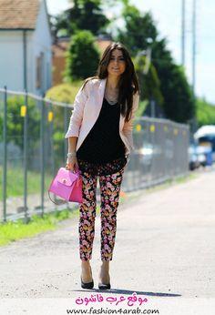 Street Style: افكار ستايل صيف 2014