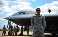A B-2 Spirit in Australia for training