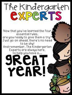 The Kindergarten Experts...to help kindergartners learn school rules!