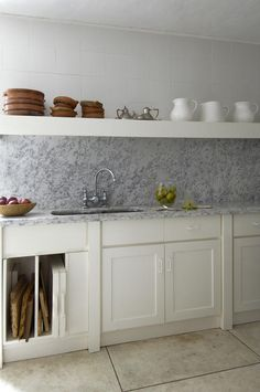 I'm obsessed with marble right now, impractical as it may be for the kitchen.
