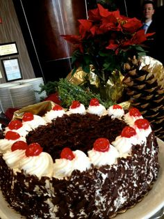 Our Rosen Centre chefs have so much fun with tasty, eye-appealing dishes for our buffets. We hope you enjoyed it! | Pinned by Rosen Hotels | #RosenCentre #christmas #holidays #food #dining #yum