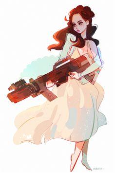 Lana Del Rey #LDR #art by Vicki Tsai
