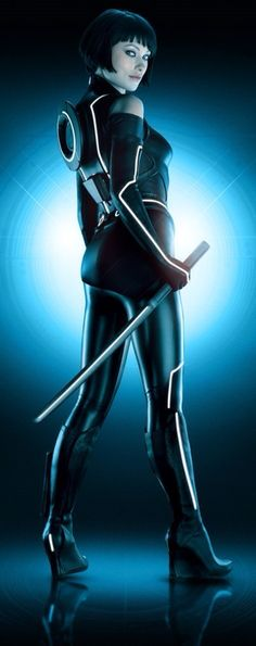 Tron - Legacy - Quorra played by Olivia Wilde