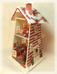 Dollhouse miniature collectibles and kits