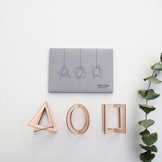 SNUG.TRIO wooden pendants/ http://snugonline.bigcartel.com/product/snug-trio