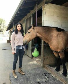 """Some Horse 🐴 Riding time for Sunny Leone ! @Bollywood ❤️❤️❤️"""