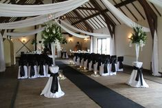 Flower Design Events: Colour Black and White