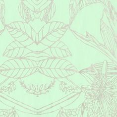 Chinoise Mint Green and Silver: wallpaper Basso and Brooke by Graham and Brown