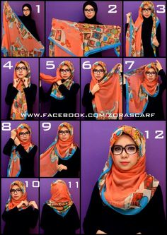 How To Hijab #3 - Zorascarf