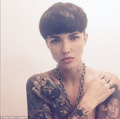 The seal of approval! Ruby Rose took to her Twitter account on Friday and admitted Jack Wh...