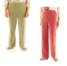 Alfred Dunner Pants Cedar Creek women's size 8 14 16, 18, 16P, 16W, 18W, 24W NEW #AlfredDunner #DressPants