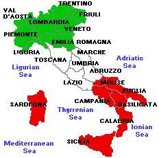 Phrase Popular italian last names
