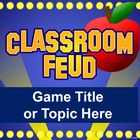 This easy-to-use PowerPoint template plays like the popular TV game show, Family Feud! It's great for test prep at the end of the year!  You can ed...