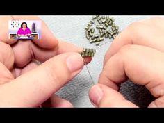 Stitches: Flat Brick Stitch - #Seed #Bead #Tutorials