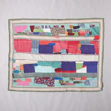 ONE-OF-A-KIND VETCI QUILTED THROW