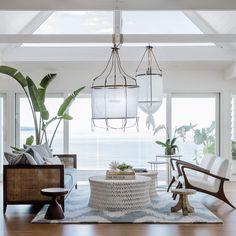 Coastal Living Rooms, Living Room Decor, Tropical Living Rooms, Living Area, Ikea Lillangen, Tropical Home Decor, Tropical Furniture, Tropical Interior, Tropical Colors