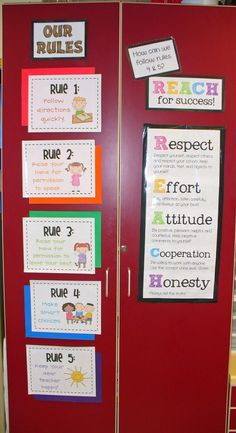 Whole Brain Teaching Rules Plus REACH. Would like to adapt this for middle school science classroom