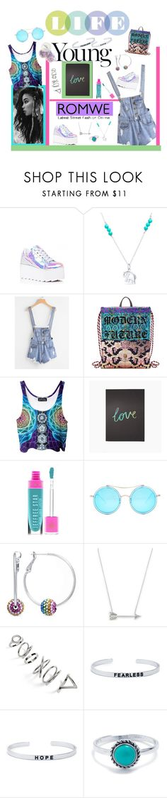 """""""Live Your Life"""" by eudoxiee ❤ liked on Polyvore featuring Y.R.U., Belk Silverworks, Gucci, Katie Leamon, Jeffree Star, AQS by Aquaswiss, Estella Bartlett and Topshop"""
