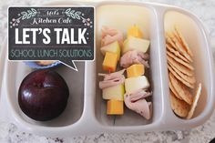 Get lots of tips and ideas for packing those pesky school lunches!