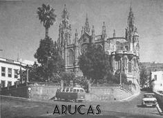 Iglesia de Arucas en Gran Canaria. Islas Canarias. España