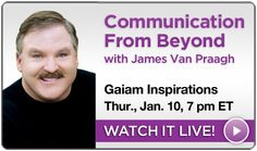 Tune in tonight at 7 pm ET as James Van Praagh shares how to connect with our loved ones who have passed on.  www.vanpraagh.com Spiritual Teachers, Event Calendar, Paranormal, Personal Development, Fun Stuff, First Love, Connect, Spirituality, Mindfulness