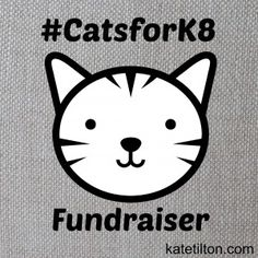 Help support cats by check out thus fundraiser!  http://katetilton.com/catsfork8-fundraiser-book-sale/