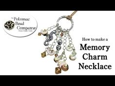 ▶ How to Make a Memory Charm Necklace (or Pendant) - YouTubefree tutorials from The Potomac Bead Company http://www.potomacbeads.com http://www.thebeadco.com http://www.youtube.com/PotomacBeadCo