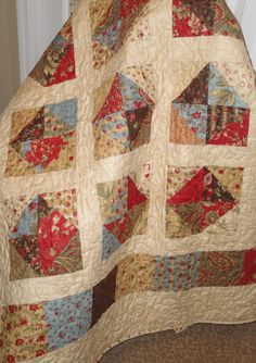 Quilt Pattern PDF made with Charm Squares an by saratogastitches, $9.00