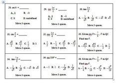 pre-calc 12 trigonometry applications questions