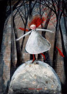 Pinzellades al món: Il·lustracions de Katalin Szegedi: colors entre so...