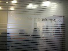 HSBC  Frosted Vinyl Nasrcity branch2  by Better & Partners'  Address : 55 Shehab St. Mohandessin, Gîza, Egypt, 123456 Phone : + 20 2 3303 7199
