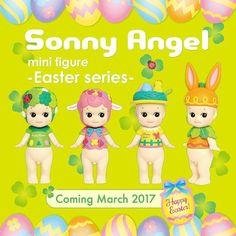Sonny Angel Paasserie 2017  #sonnyangel #sonnyangels #pasen #easter #bunny #lovely  #clover #eggs #lamb #collect #kidslifestyle #kidsroom