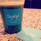 Getting my green juice fix from Sky High Juice Bar in Aoyama
