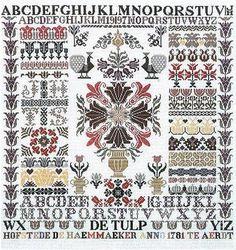 Tulip Sampler - Houtman Designs