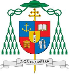 Archivo:Coat of Arms of Archbishop Primate Francisco Ozoria.svg
