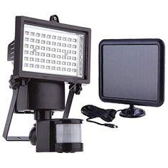 22 LED Solar Lampe Bewegungsmelder Solarleuchte Solarlampe mit Fernbedienung Neu