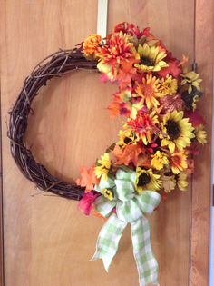 Fall Wreath. $ 30.00