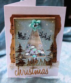 De Stempelwinkel - Designteam      : christmas shaker card