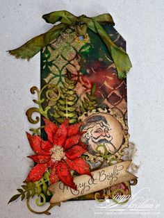 Mine has been a bit hectic! Christmas Tag, Vintage Christmas, Christmas Crafts, Xmas, Enjoy Your Weekend, Paper Tags, Craft Corner, Winter Theme, Merry And Bright